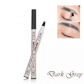 Dermarolling Waterproof Liquid Eyebrow Pen 03 Dark Grey