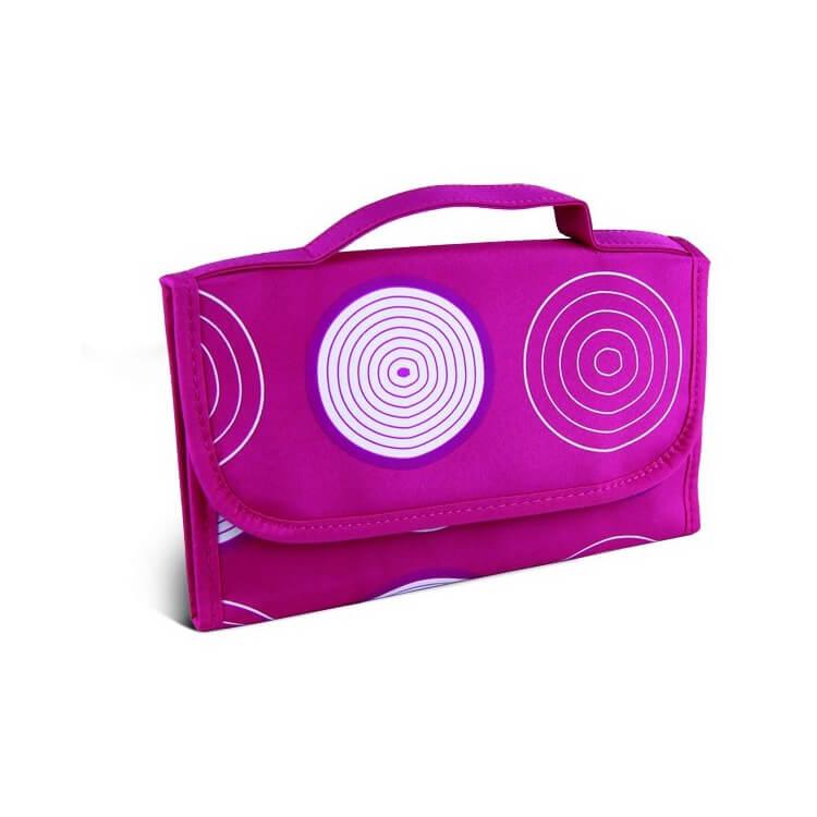 Afbeelding van Donegal Cosmetic Bag Pink Patroon - 4911