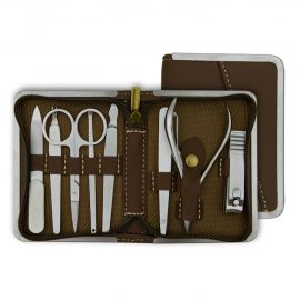 Donegal Manicure Set - Mini-Purse , 8 Pcs. - 2420