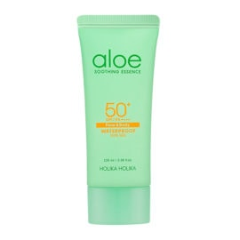 Holika Holika Aloe Soothing Essence Waterproof Sun Gel SPF50+