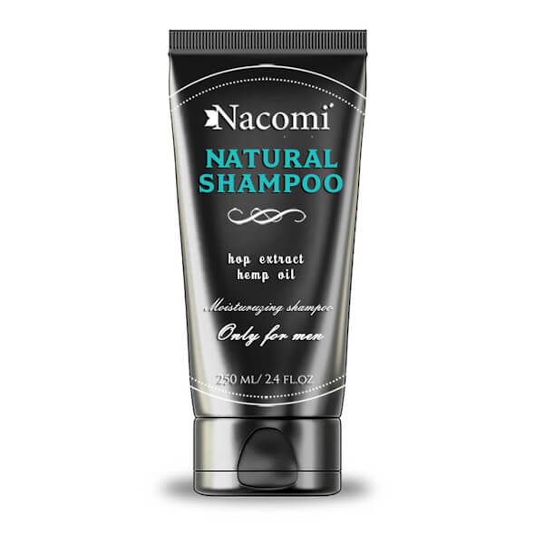 Afbeelding van Nacomi Natural Shampoo - Only for men 250ml.