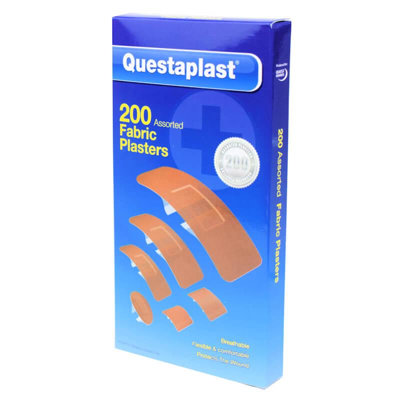 Afbeelding van Questaplast 200 stuks Compleet Pleister Assortiment