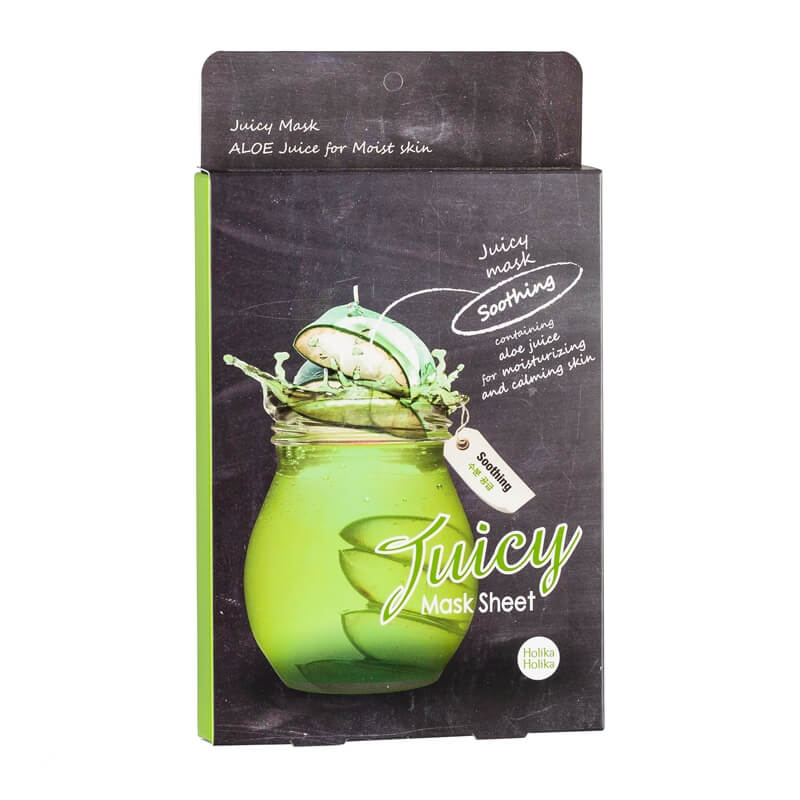 Afbeelding van Holika Holika Aloe Juicy Mask Sheet 5 pcs
