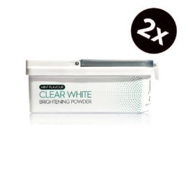 Clear White Mint Flavour Brightening Powder 2 stuks