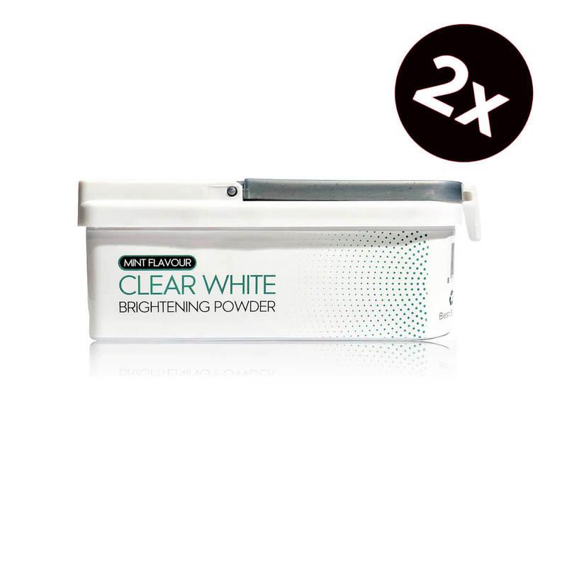 Afbeelding van Clear White Mint Flavour Brightening Powder Duo Pack