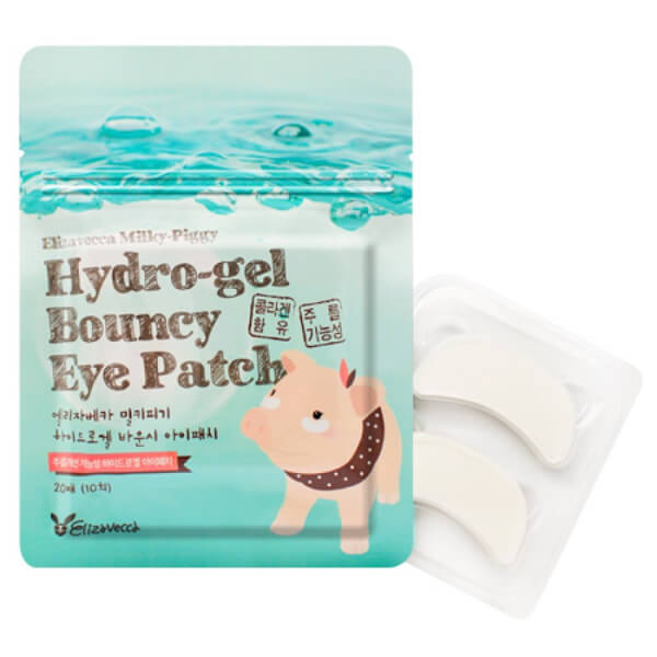 Afbeelding van Elizavecca Milky Piggy Pure Hydro Gel Bouncy Eye Patch 20st.