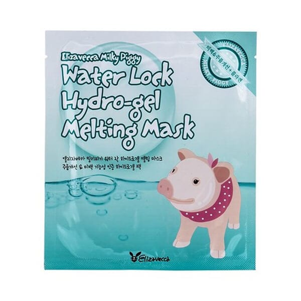 Afbeelding van Elizavecca Milky Piggy Water Lock Hydro-Gel Melting Mask 30gr.