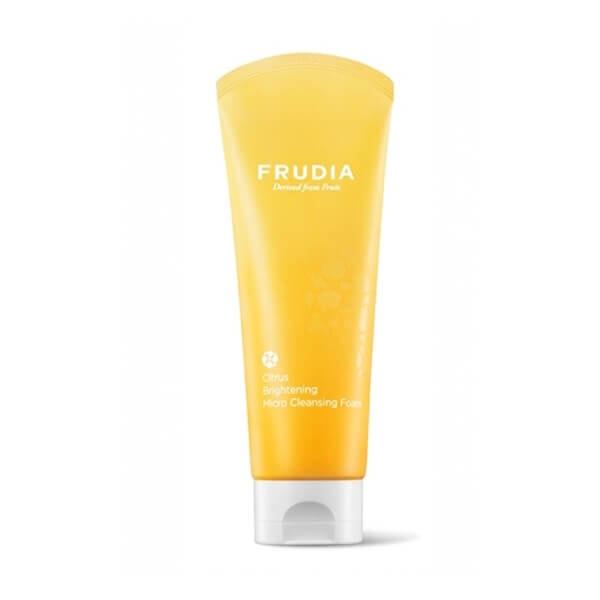 Afbeelding van Frudia Citrus Brightening Micro Cleansing Foam 145ml.