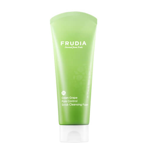 Afbeelding van Frudia Green Grape Pore Control Scrub Cleansing Foam 145ml