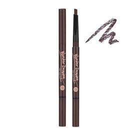 Holika Holika Wonder Drawing 24hr Auto Eyebrow 02 Dark Brown