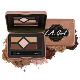 L. A. Girl Inspiring Eyeshadow Palette Naturally Beautiful GES335