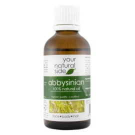 Your Natural Side Abbysinian Oil, Refined 50ml. Cap