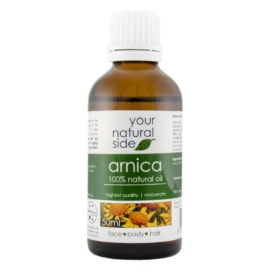 Your Natural Side Arnica Macerate Oil 50ml. Cap