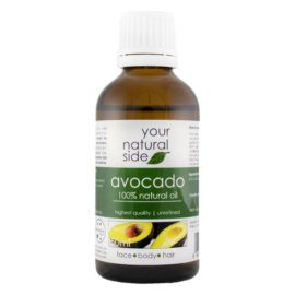 Your Natural Side Avocado Oil, Unrefined 50ml. Cap