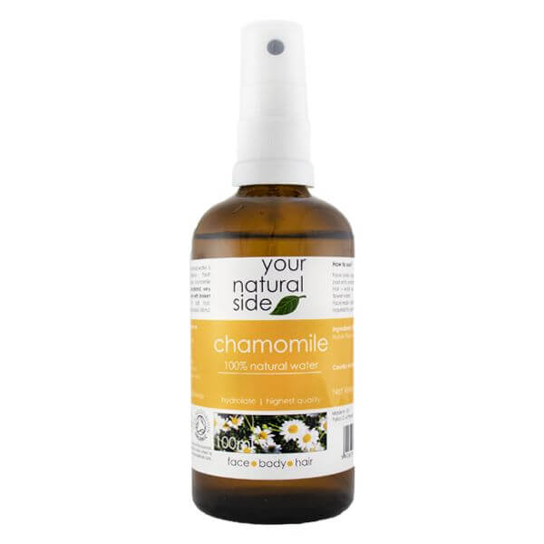 Afbeelding van Your Natural Side Chamomile Organic Floral Water 100ml. Spray