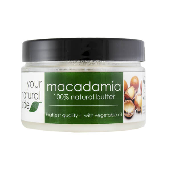 Afbeelding van Your Natural Side Macadamia Butter With Soybean Oil 100ml.
