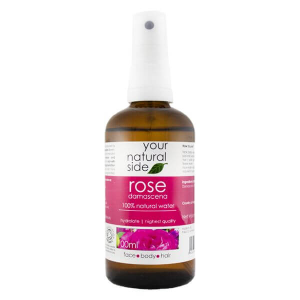 Afbeelding van Your Natural Side Rosa Damascena Organic Floral Water 100ml. Spray