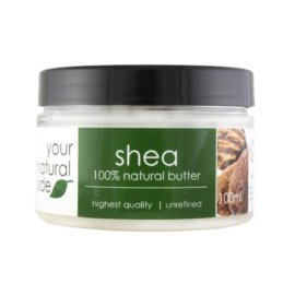 Your Natural Side Shea Organic (Butter, Unrefined) 100ml.