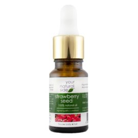 Your Natural Side Strawberry Seed Oil, Unrefined 10ml. Pipette