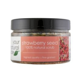 Your Natural Side Strawberry Seed Scrub 100ml.