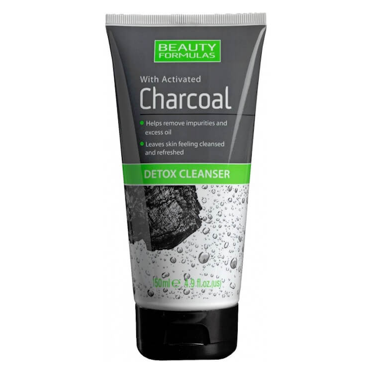 Afbeelding van Beauty Formulas Charcoal Detox Cleanser 150ml.