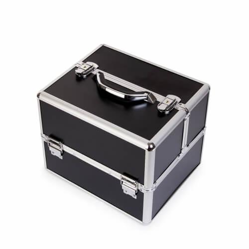 Afbeelding van Cosmetics Zone Cosmetica Koffer Zwart