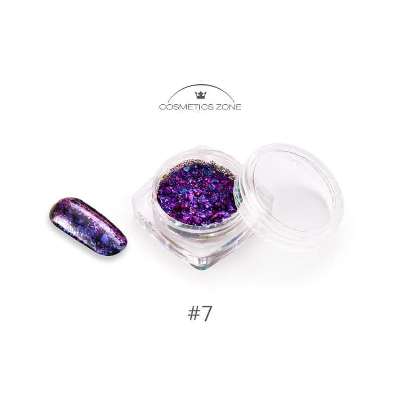 Afbeelding van Cosmetics Zone Disco Flakes #07