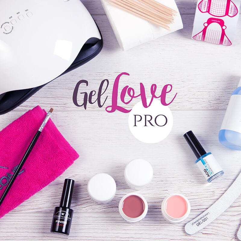 Afbeelding van Cosmetics Zone Gel Love PRO Manicure Kit