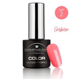Cosmetics Zone UV/LED Hybrid Gel Nagellak 7ml. Gerbera NP2