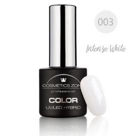 Cosmetics Zone UV/LED Hybrid Gel Nagellak 7ml. Intens White 003