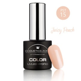 Cosmetics Zone UV/LED Hybrid Gel Nagellak 7ml. Juicy Peach PST15