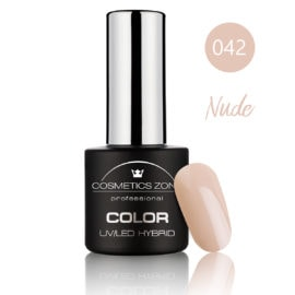 Cosmetics Zone UV/LED Hybrid Gel Nagellak 7ml. Nude 042