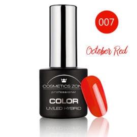Cosmetics Zone UV/LED Hybrid Gel Nagellak 7ml. October Red 007