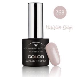 Cosmetics Zone UV/LED Hybrid Gel Nagellak 7ml. Parisian Beige 268