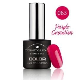 Cosmetics Zone UV/LED Hybrid Gel Nagellak 7ml. Purple Carnation 063