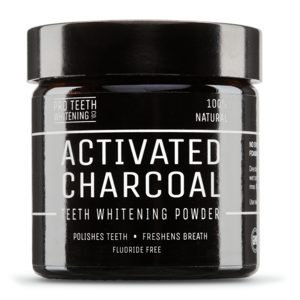 Afbeelding van Pro Teeth Whitening Activated Charcoal Teeth Whitening Powder 60gr