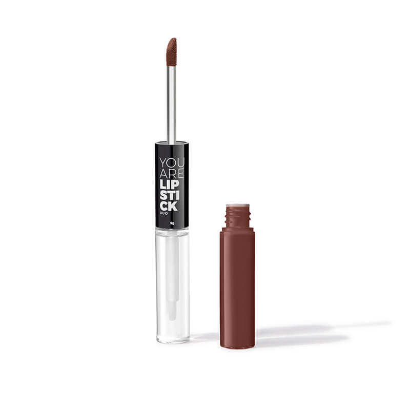 Afbeelding van You Are Cosmetics Duo Gloss Lipstick Cocoa #20104