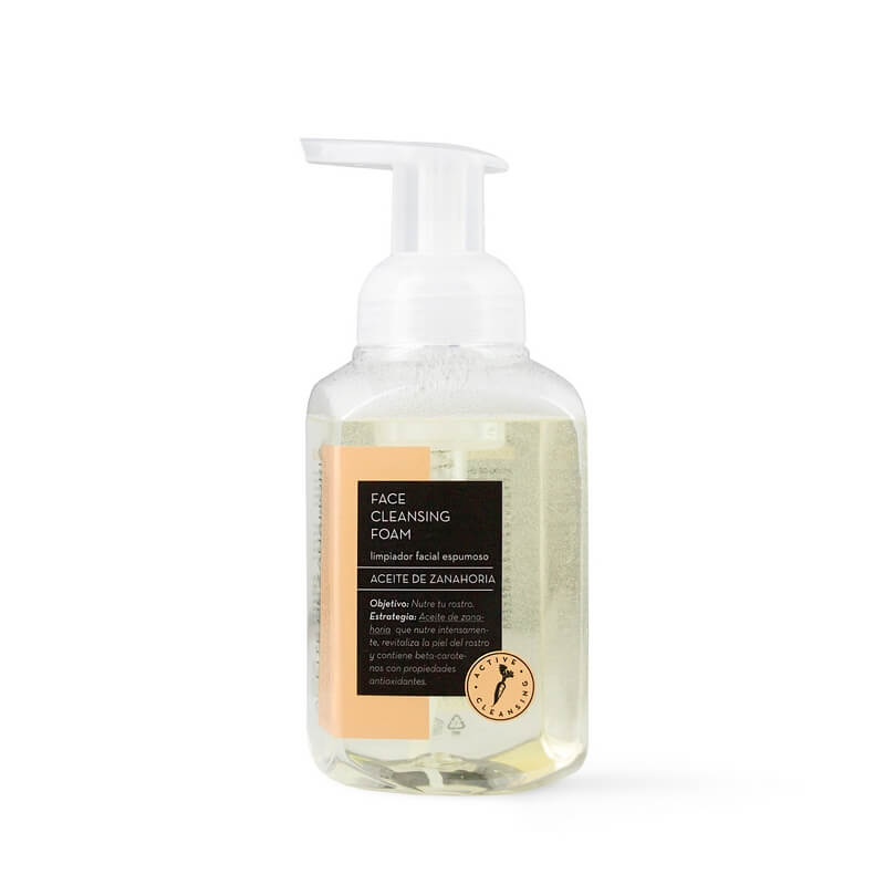 Afbeelding van Fancy Handy Face Cleansing Foam Carrot Oil 275ml.