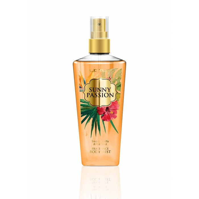 Afbeelding van REVERS® Lotus Body Mist Sunny Passion Sweet Vanilla & Coconut 210ml.
