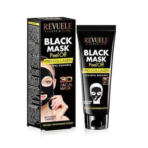 Afbeelding van Revuele Black Mask Peel Off - Pro Collagen 80ml.