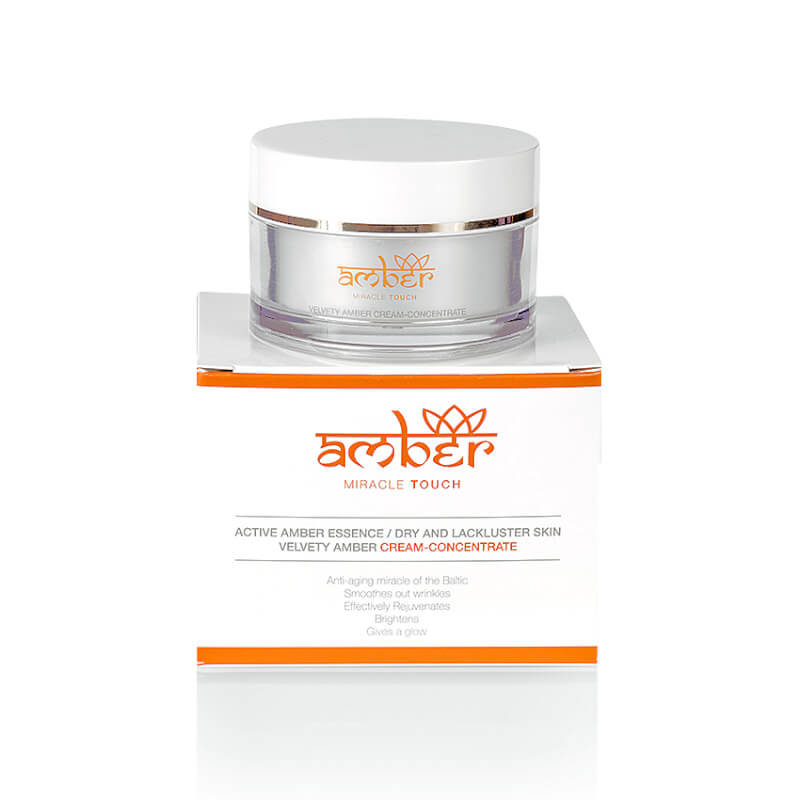 Afbeelding van AMBER® Miracle Touch - Velvety Amber Cream Concentrate 50ml.