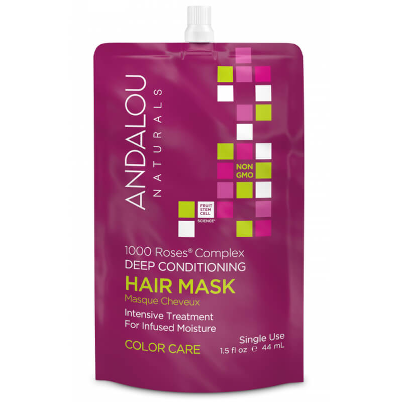 Afbeelding van Andalou Naturals 1000 Roses Complex Deep Conditioning Hair Mask - Color Care 44ml.