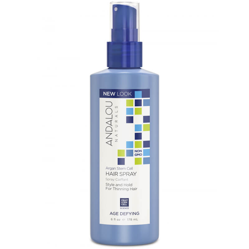 Afbeelding van Andalou Naturals Argan Stem Cell Hair Spray - Age Defying 178ml.