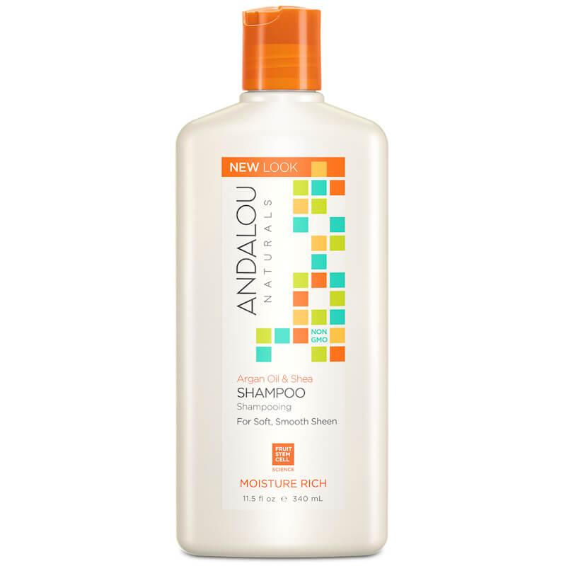 Afbeelding van Andalou Naturals Argan Oil & Shea Shampoo - Moisture Rich 340ml.