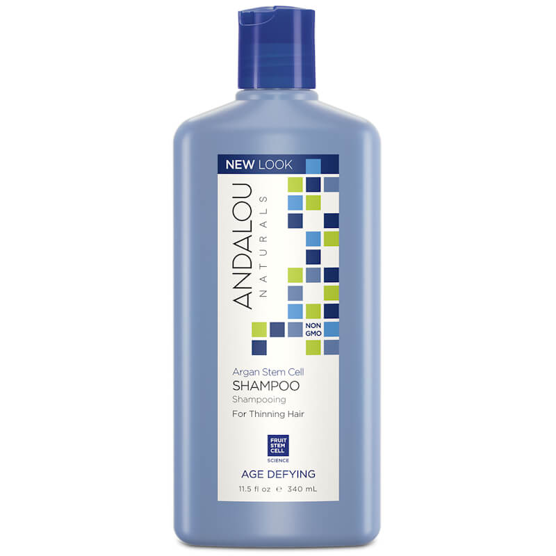 Afbeelding van Andalou Naturals Argan Stem Cell Shampoo - Age Defying 340ml.