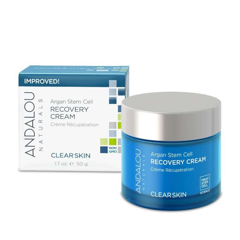 Afbeelding van Andalou Naturals Argan Stem Cell Recovery Cream - Clear Skin 50ml.
