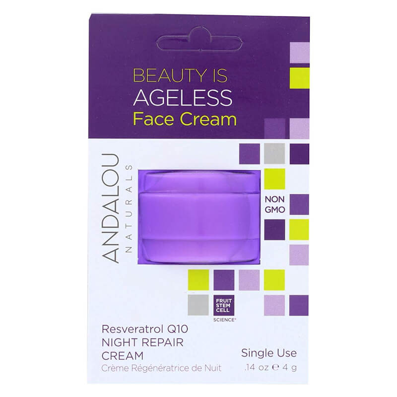 Afbeelding van Andalou Naturals Beauty Is Ageless Face Night Cream Pod - Age Defying 4g.