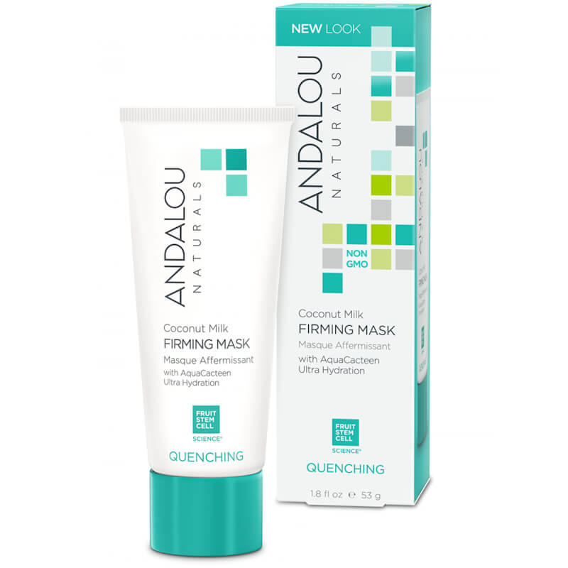 Afbeelding van Andalou Naturals Coconut Milk Firming Mask - Quenching 53g.