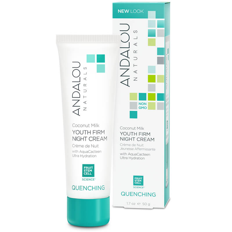 Afbeelding van Andalou Naturals Coconut Milk Youth Firm Night Cream - Quenching 50g.