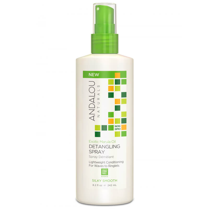 Afbeelding van Andalou Naturals Exotic Marula Oil Silky Smooth Detangling Spray - For Waves To Ringlets 242ml.